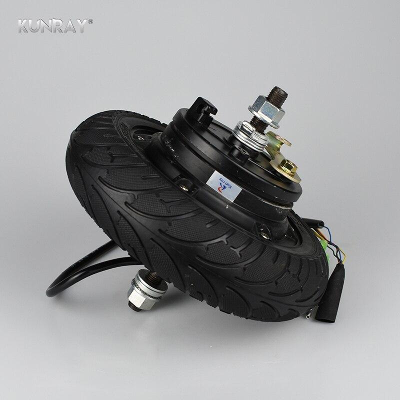 Scooter Eléctrico Motor de la rueda Hub 24 V 36 V 48 V DC sin escobillas sin dientes 8