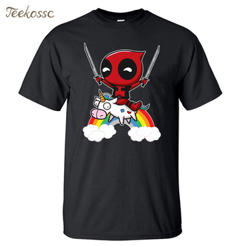 Deadpool Men T Shirt Funny Tshirt 2018 Summer Top Tee Hipster Mens T Shirts 100 Cotton
