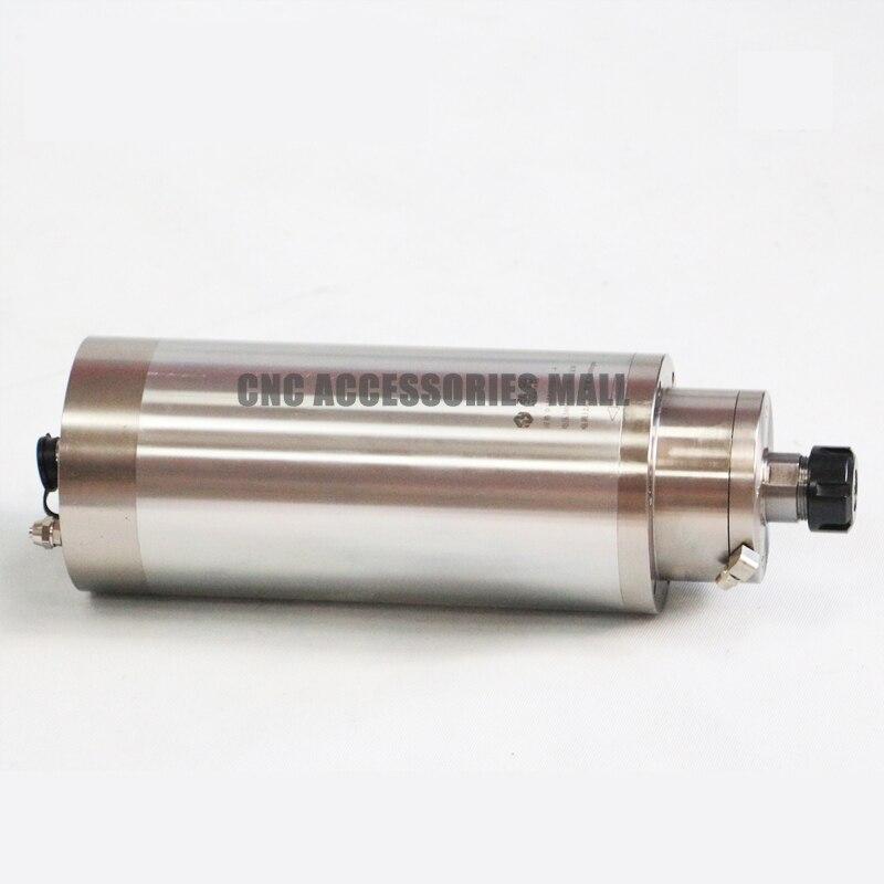 7.5KW 24000 tr/min refroidi à l'eau moteur de broche de puissance constante ER40 AC380V D125mm CNC broche de moule