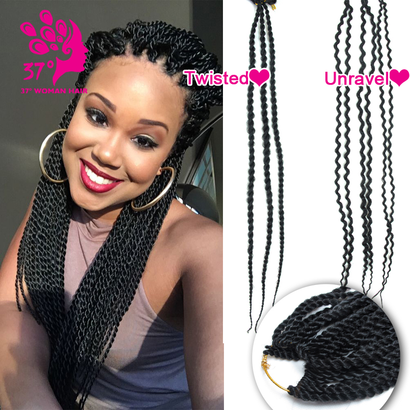 Crochet Marley Hair How Many Packs : Twist Crochet Braid Hair 18 70g/pack Freetress Crochet Braid Marley...