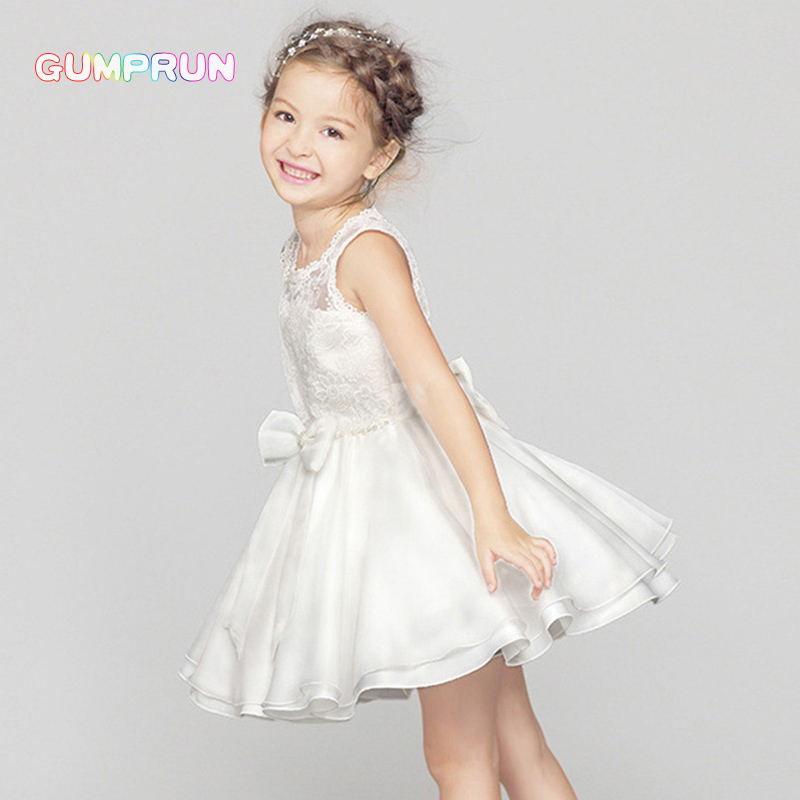 GUMPRUN Baby Girl Floral Lace Princess Tutu Dress Butterfly Birthday Party Dresses For Kids Wedding Ball Gown Girls Clothes kids winter overalls for girls 2017 newborn clothes infant cartoon baby boys hooded rompers thicken warm cotton baby snow suits page 2