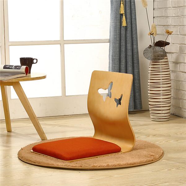 4 шт/лот стул без ноги в японском стиле толстое сиденье для