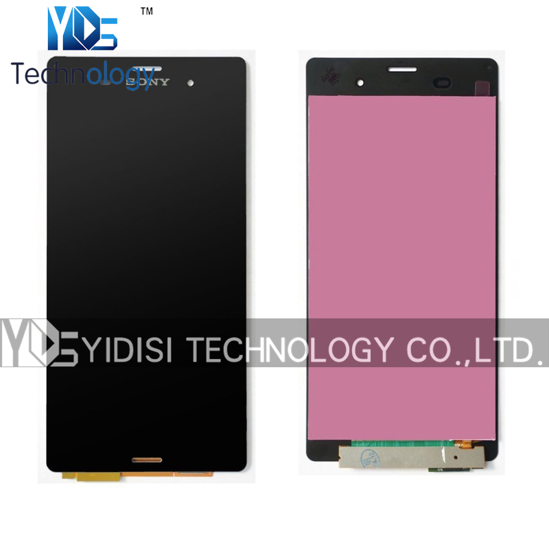 ФОТО 1PCS Original Assembly LCD Touch Screen For Sony Xperia Z3 L55t D6603 D6643 D6653 D6633 LCD Digitizer Black Without Frame