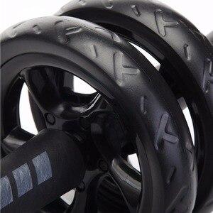 Абдоминальные колеса без шума Ab колеса Roda абдоминальные ролики для тренировок с ковриком для упражнений оборудование для фитнеса тренажер для мышц
