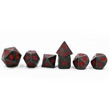 Dungeon Master Black Metal Dice Set