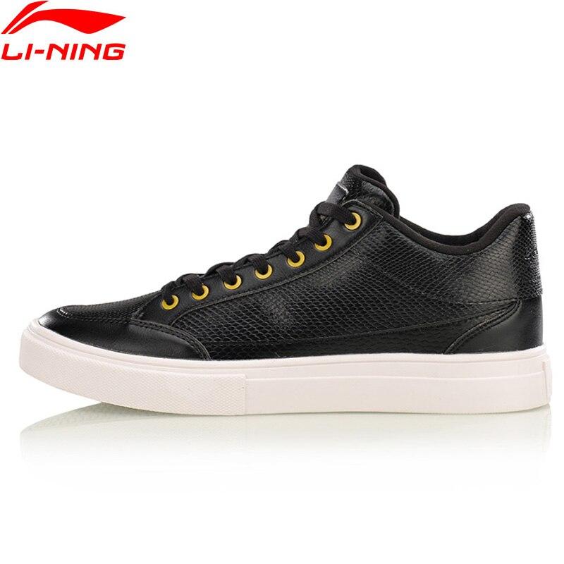 Li-Ning Walking Shoes LN Remodel Leisure Breathable Sports Shoes Men LiNing Wearable Sneakers AGCM143 YXB099 li ning men dominator basketball shoes leather support lining wearable sports shoes li ning breathable sneakers abpm027