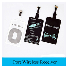portable Qi Wireless Charger pover bank Receiver For ipad apple iphone 6 Samsung galaxy Android Phones Charging Adapter Receptor стоимость