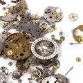 50g Un Paquete Reloj de Chatarra De Diferentes Partes de Materiales de BRICOLAJE Accesorios del Arte del Reloj de Reparación de Piezas de la Mejor Calidad