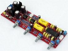 Pre-ampliifer LM4610 NE5532 tablero tableros de front-end de volumen de placa tono Preamplificador junta amplificador mezclador