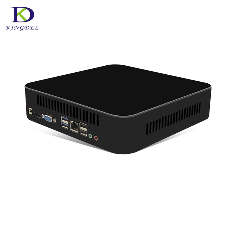 Intel Quad-core I7 7700T Mini PC Kabylake HTPC I5 7500T Desktop Computer Nettop Dual Lan HDMI VGA HD630 Graphics 4K Windows 10