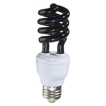 Jiguoor E27 15/20/30/40W AC 220V 300-400nm Spiral Enegy Saving UV Ultraviolet Fluorescent Black Light CFL Light Bulb Violet Lamp фото