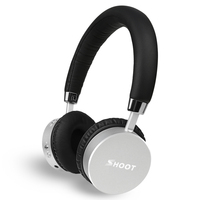 SHOOT Wireless Bluetooth Headphones With Microphone Dynamic Stereo Wireless Headset For IPhone Xiaomi Meizu Android Music