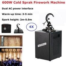 Фейерверк машину DMX искры фонтаном 600Вт эффект холодная пиротехника для свадьбы на клубной выставке висит DJ оборудование
