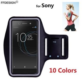 Funda de Teléfono de deportes para Sony Xperia XA3 XA2 XA1 Plus XA Ultra XZ4 XZ3 XZ2 XZ1 funda de teléfono compacta en la mano