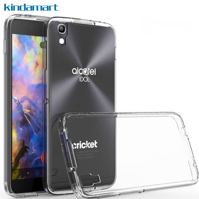 US $2 99 |Hybrid Tough Clear Case For Alcatel idol 4 Case Cover For Alcatel  idol 4 6055K Phone Case Rugged TPU Silicone Bumper Shockproof-in Fitted