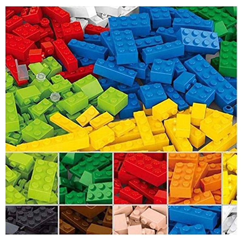 415pcs Celtniecības bloki DIY Radoši ķieģeļi Rotaļlietas bērniem Izglītības ķieģeļi Saderīgs bērniem Dzimšanas dienas dāvana