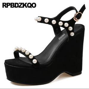 82bdfed4e7 RPBDZKQO Women Wedge Platform Sandals 2018 Summer Shoes