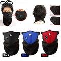 Hombres Mujeres Invierno Cálido Cuello Envolturas Faciales Mascarilla Velo Sport Esquí de La Motocicleta de la Bici Del Motorista (Un tamaño más)