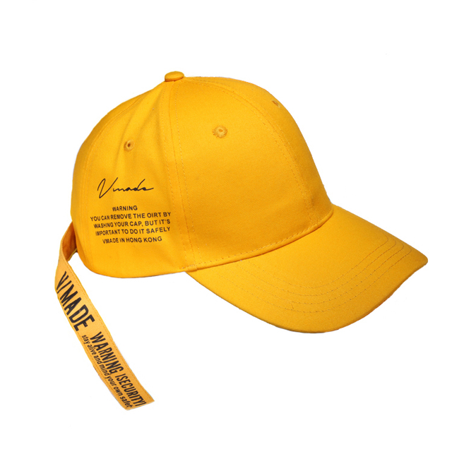 yellow baseball caps wholesale fashion letter long belt for women and men spring summer brand new novelty cap toddler amazon