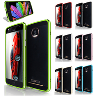 For Moto Z Play XT1635 Bumper Cover High Light Metal Aluminum Frame Case For Motorola Moto