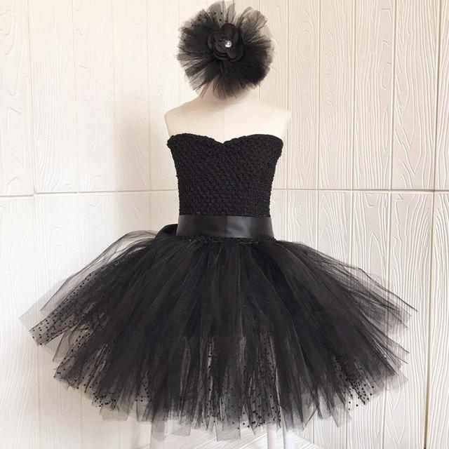 991b1cfac79c Black Elegant Bella Swan Prom Dress for Kids Girl V neck Ballet ...