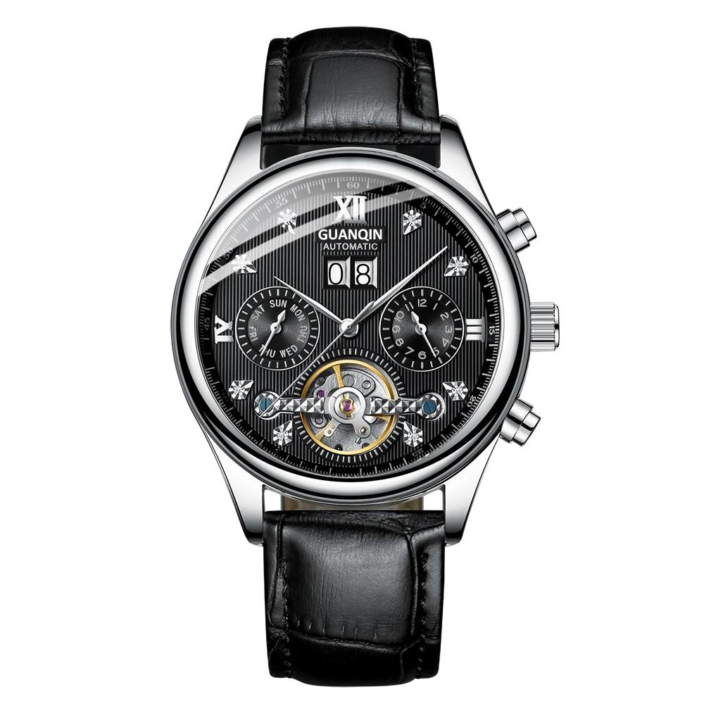 HTB1zdPLaffsK1RjSszbq6AqBXXaZ GUANQIN 2019 Automatic clock men Mechanical watch men Tourbillon waterproof top brand luxury dropshipping date relogio masculino