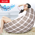 Ywxuege English letter Living Room Individual Word Sofas Bean Bag Sofa Beige Linen Cotton Soft Sofa Bed Suit For Bed