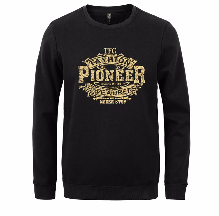 Pioneer Camp new autumn Winter fashion men hoodies casual cotton thicken fleece male pullover tracksuit mens crewneck sweatshirt Pioneer Camp new autumn Winter fashion men's sweater's HTB1zdPULVXXXXb3XFXXq6xXFXXXT