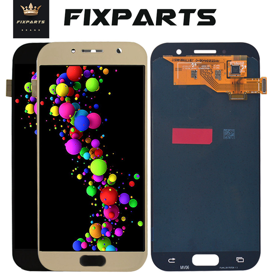 5 2 For SAMSUNG GALAXY A5 2017 LCD A520 A520F SM A520F Display Touch Screen Digitizer
