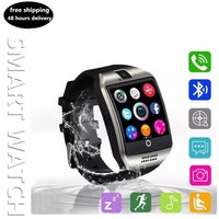ZoneQuality q18 Bluetooth Smart Watch Android SmartWatch Phone Call GSM Sim Remote Camera Information Display Sports Pedometer