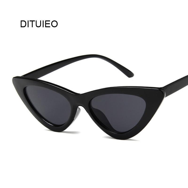 eb82713da9 AEVOGUE gafas de sol para mujer 2019 mujer montura de corte de diamante de  la lente