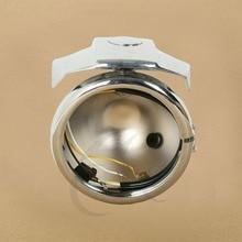 5.75 Headlight Black Chrome Housing Bucket W/ Mount Bracket For Harley Models Sportster XL 883 1200