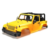 Brand New 1/10 RC Remote Control Truck Hard Body Shell Canopy Rubicon Topless For SCX10/D90