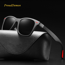 Classic Polarized Driving Square Frame Sunglasses