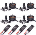 40A ESC OPTO 2-6S similar as Hobbywing Xrotor ESC + 3508 580KV Brushless Motor For ZD550 ZD850 FPV Multirotor Quadcopter
