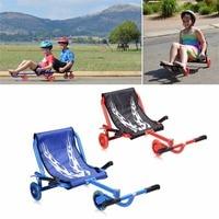 Детей 3 мигает Колёса легкий СКУТЕР игры на свежем воздухе дети стопы twister качели, Прокат трехколесный скутер ездить Best подарок