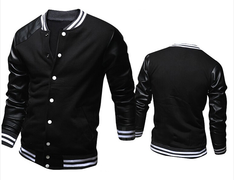 Compare Prices on Mens Leather Baseball Jackets- Online Shopping ...