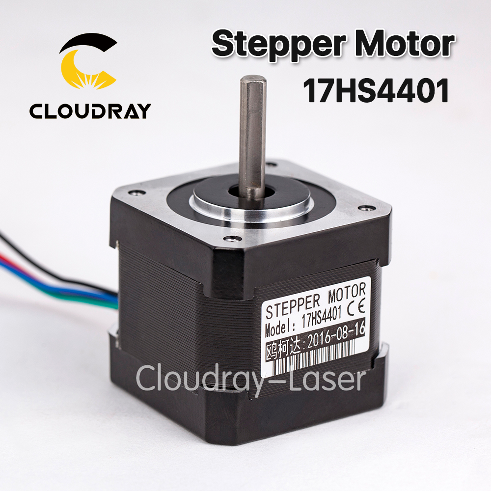 1 pcs 4-lead Nema17 Stepper Motor 42 Nema 17 42BYGH (17HS4401) 40mm 1.7A 3D printer motor and CNC XYZ