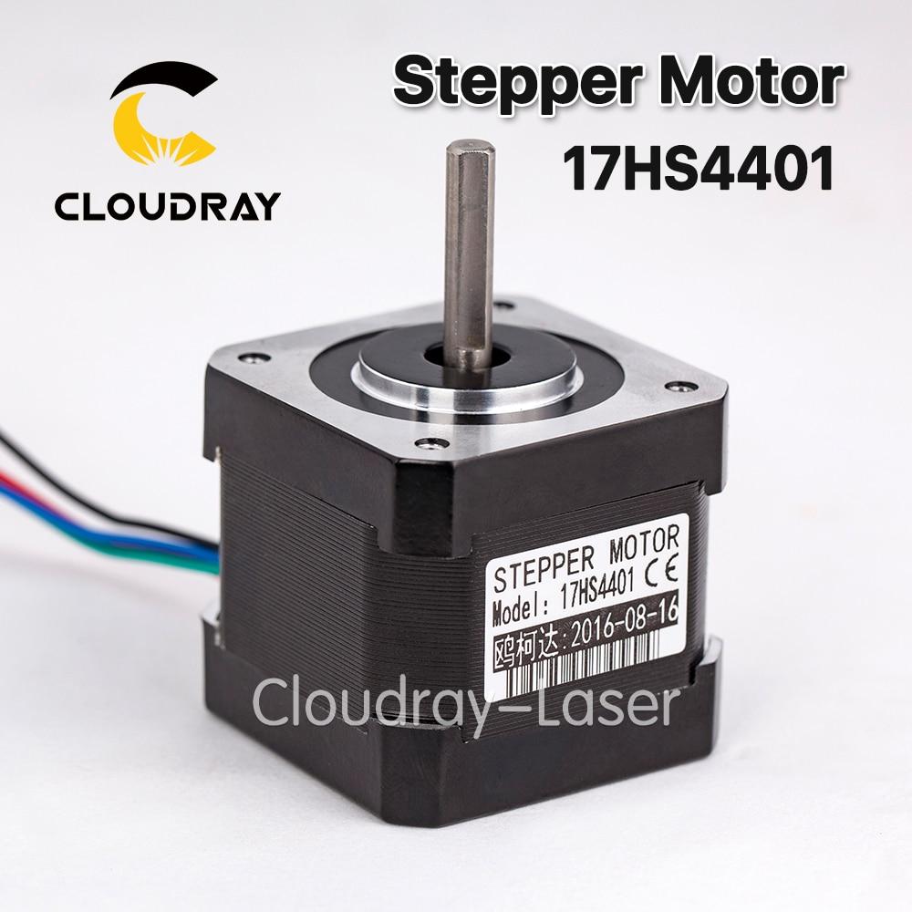 1 pz-lead Nema17 Stepper Motor 42 Nema 17 42 BYGH (17HS4401) 40mm 1.7A stampante 3D motore e XYZ di CNC