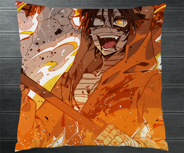 Anime Angels Of Death Ray Zack Isaac Foster Fan Art Two Side 4040 Pillowcase