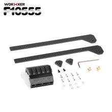 Worker F10555 Stainless Steel Injection Molding Pull-down Kit for Nerf Retaliator(Sliding Block Set) - Black
