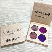 Pressed Glitter Eyeshadow Palettes (4 Palette Types Available)