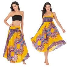 Leisure Folk-custom Skirt Beach Resort Skirt Two-Way Skirt Belly Dance Skirt цена