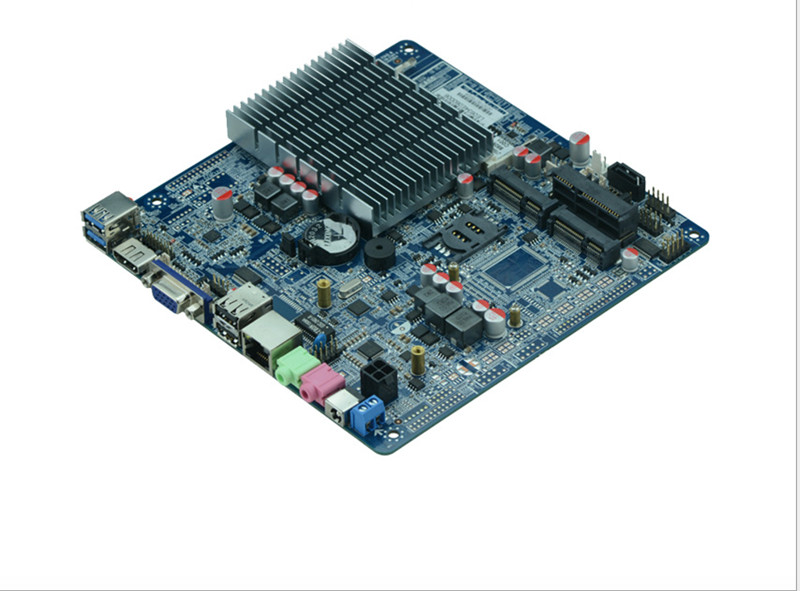 Cheap Intel J1800/2.41 GHz Dual-core CPU Mini Motherboard Thin Client With Fanless Cheap Mini Server Computer Made In China