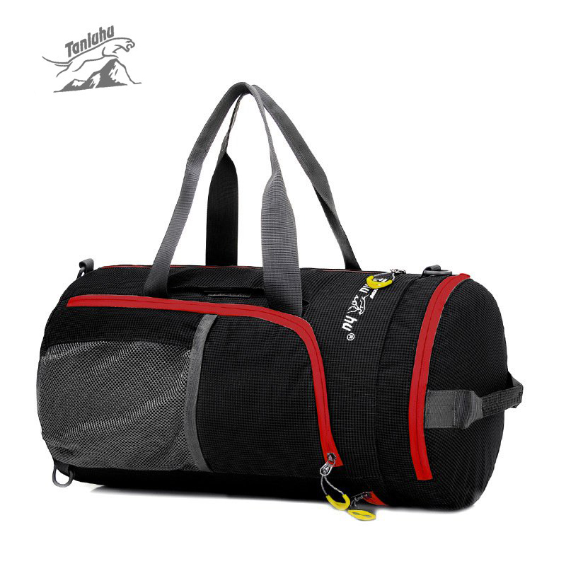 Outdoor bag Multifunction Waterproof Nylon Unisex Camping Sports Bags Folding Knapsack Packsack Shoulder Bags Travel Hiking Bags outlife new style professional military tactical multifunction shovel outdoor camping survival folding spade tool equipment