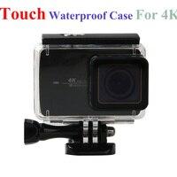 XiaoMi Yi 4K Touch Waterproof Case Sport Action Camera Waterproof Housing Box For XiaoMi Yi 2