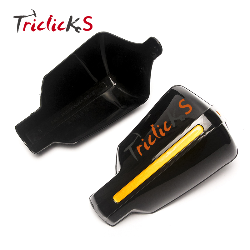 Triclicks 7/8 22 Dirt Bike Scooter ATV Motorcross Motorcycle Brush Bar Hand Guards Black Handlebar Handguard Hand Guard Common цена