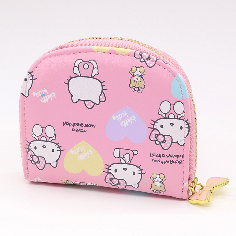 Hello kitty character cat business card holder women zipper wallet hello kitty character cat business card holder women zipper wallet high quality pu pink cute name card case in card id holders from luggage bags on reheart Images
