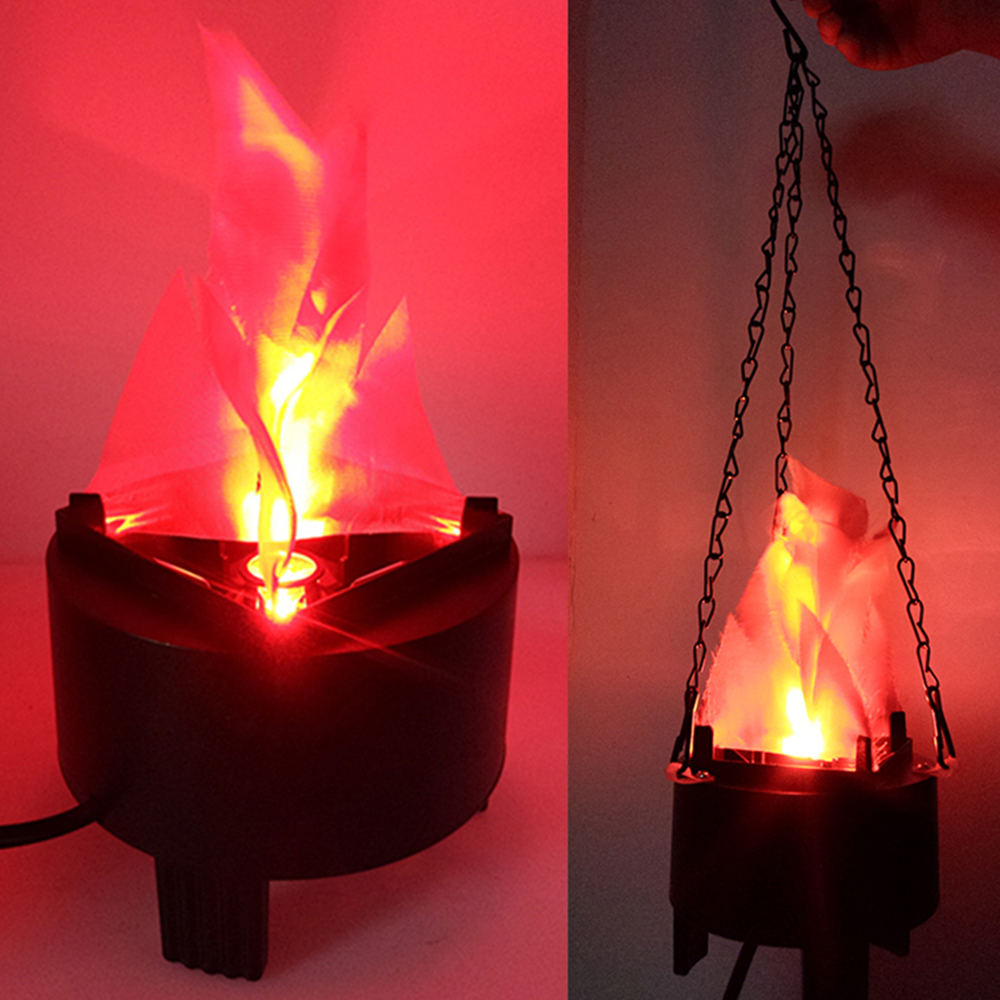 Portable Electronic Led Fake Fire Flame Simulated Flame