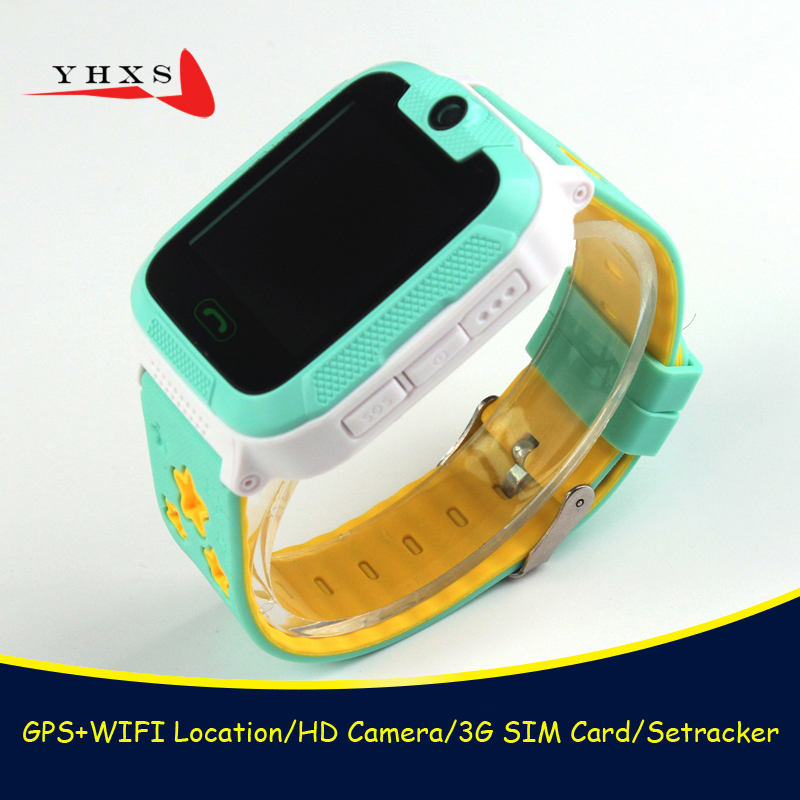 где купить New 3G Wifi GPS Tracker Children Smart Watch Touch Screen Security Fitness Monitor Smartwatch With Camera SOS For iOS Android дешево